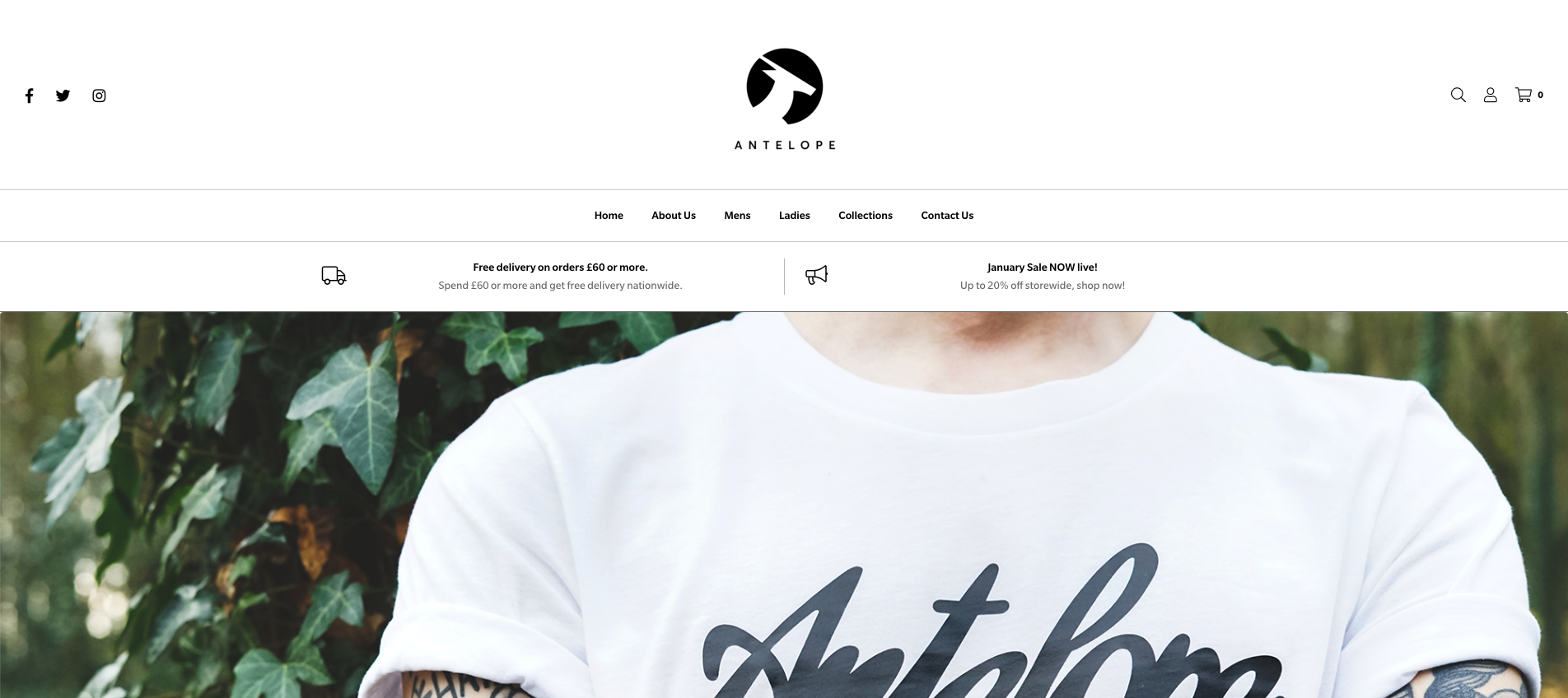 Antelope Clothing